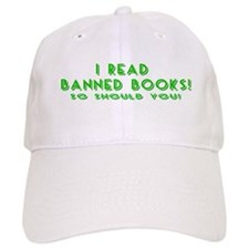 I Read Banned Books! Baseball Baseball Cap