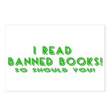 I Read Banned Books! Postcards (Package of 8)