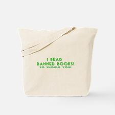 I Read Banned Books! Tote Bag