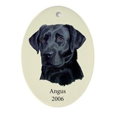 Angus Oval Ornament