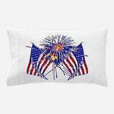 Celebrate America fireworks Pillow Case