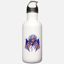 Celebrate America fireworks Water Bottle