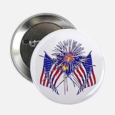 "Celebrate America fireworks 2.25"" Button (100 pack"