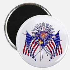 "Celebrate America fireworks 2.25"" Magnet (100 pack"