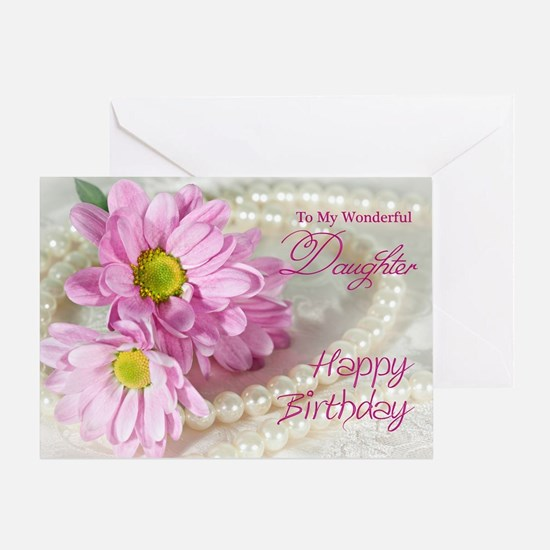 Daughter birthday card Greeting Card