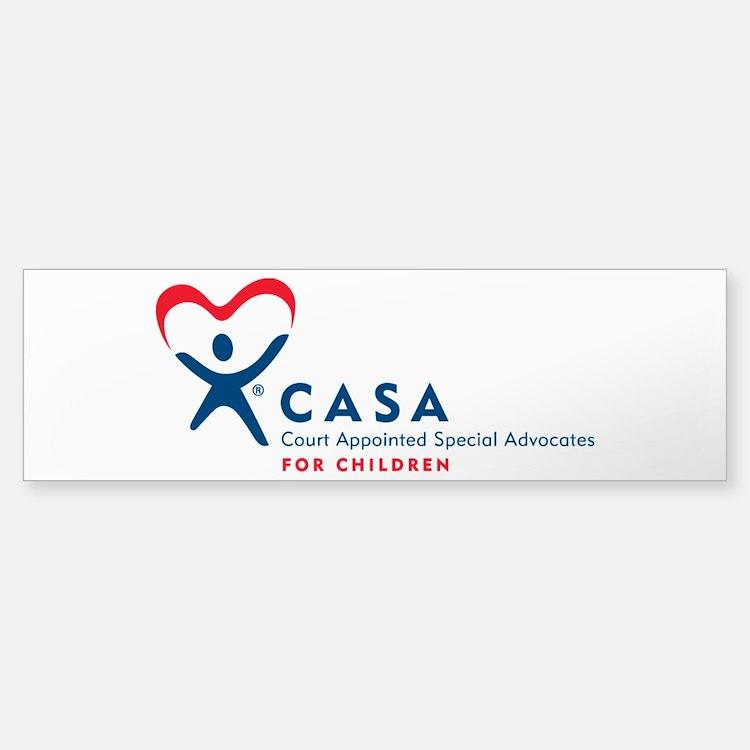 CASA Logo (Horizontal) Bumper Bumper Bumper Sticker