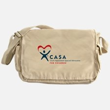 CASA Logo (Horizontal) Messenger Bag