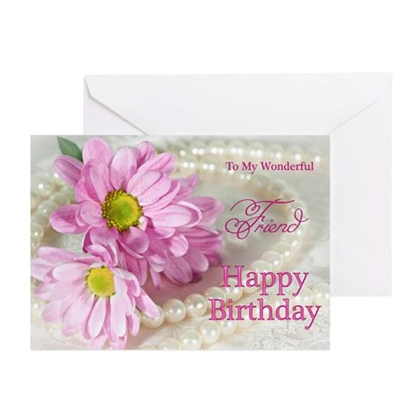Friend birthday card Greeting Cards (Pk of 10)