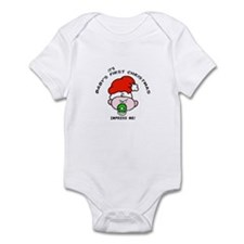 Baby's first christmas snarky Infant Bodysuit