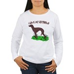 Greyhound Women's Long Sleeve T-Shirt
