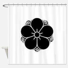 Tanakura ume Shower Curtain
