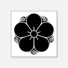 "Tanakura ume Square Sticker 3"" x 3"""