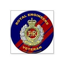 royal engineer veterant Sticker