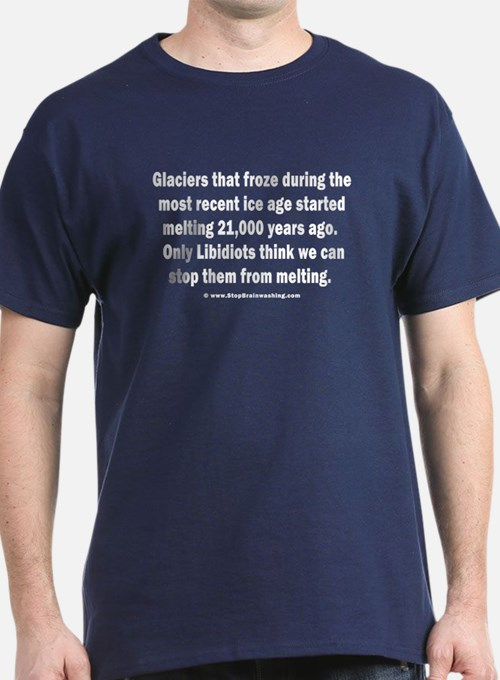 Glaciers - Melting for 21,000 years T-Shirt