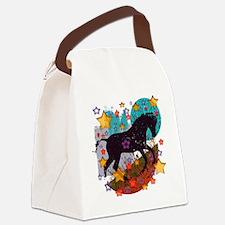 Star Pony Canvas Lunch Bag