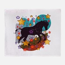 Star Pony Throw Blanket