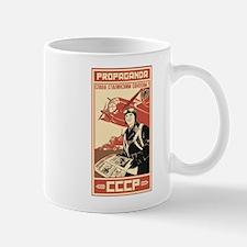 Soviet vintage war Propaganda Mug