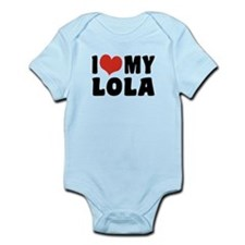 I Love My Lola Infant Bodysuit