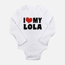 I Love My Lola Long Sleeve Infant Bodysuit