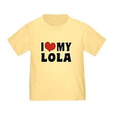 I Love My Lola T
