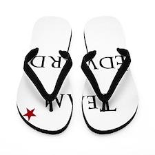 Team Edward Flip Flops