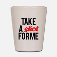 Funny Drake Shot Glass