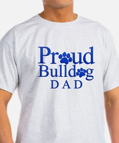 Proud Bulldog Dad T-Shirt