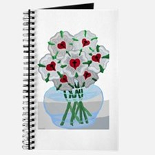 Luther's Roses in Vase Journal