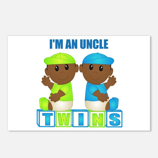 I'm An Uncle (DBB:blk) Postcards (Package of 8)