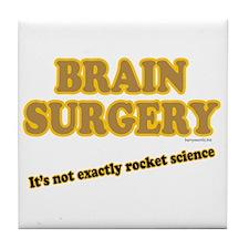 Brain Surgery Tile Coaster