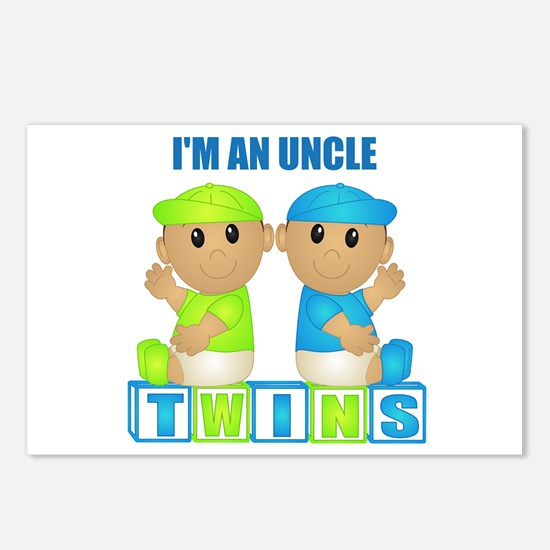 I'm An Uncle (TBB:blk) Postcards (Package of 8)