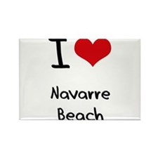 I Love NAVARRE BEACH Rectangle Magnet