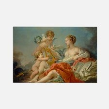 Francois Boucher - Allegory of Music Rectangle Mag