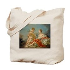 Francois Boucher - Allegory of Music Tote Bag