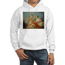 Francois Boucher - Allegory of Music Hoodie