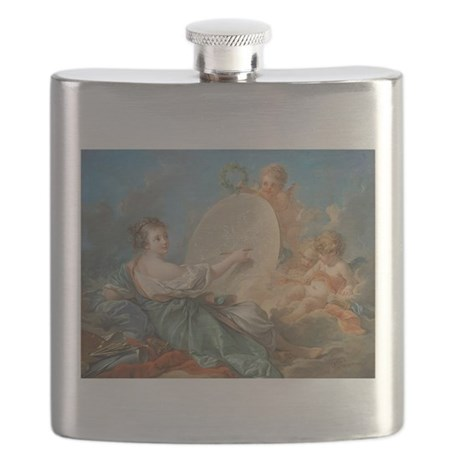 Francois Boucher - Allegory of Painting Flask