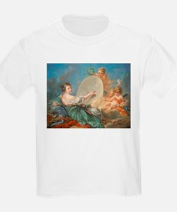 Francois Boucher - Allegory of Painting T-Shirt