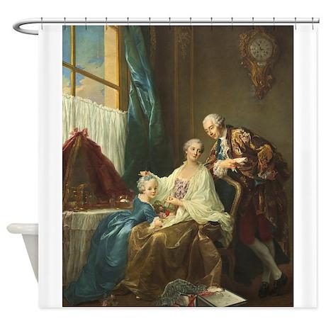 Francois-Hubert Drouais - Family Portrait Shower C