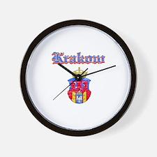 Krakow City designs Wall Clock