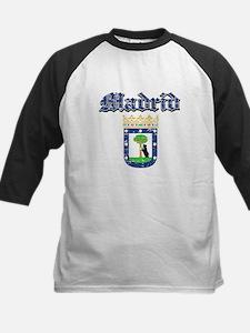 Madrid City designs Kids Baseball Jersey