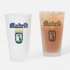 Madrid City designs Drinking Glass