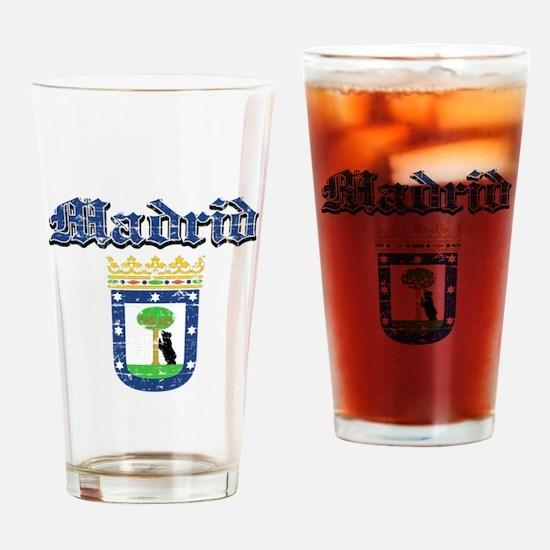 Madrid City designs Drinking Glass