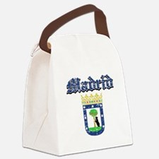 Madrid City designs Canvas Lunch Bag