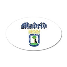 Madrid City designs Wall Decal