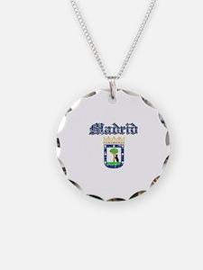 Madrid City designs Necklace Circle Charm
