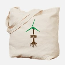Roots of Green Energy Tote Bag