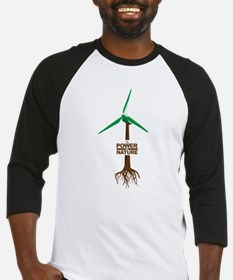 Roots of Green Energy Baseball Jersey