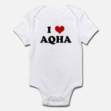 I Love AQHA Infant Bodysuit