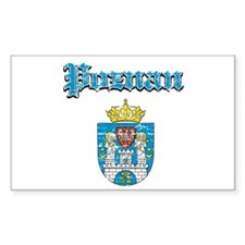 Poznan City designs Decal