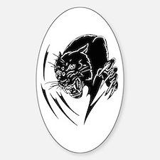 BLACK PANTHER Sticker (Oval)